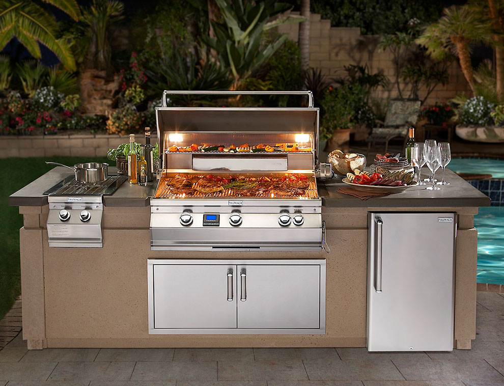 Outdoor living northwest products cooking components for Pre built outdoor kitchens